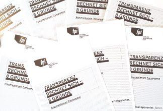 8 gute Gründe für Transparenz