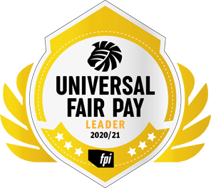 Logo Universal Fair Pay Leader